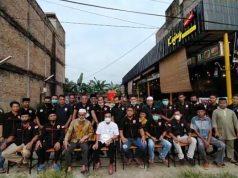 Foto Bersama Pengurus GEMPAR dan Satgas bersama pengurus PKDP Dumai
